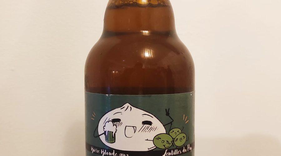 Bière Blonde aux Lentilles du Puy